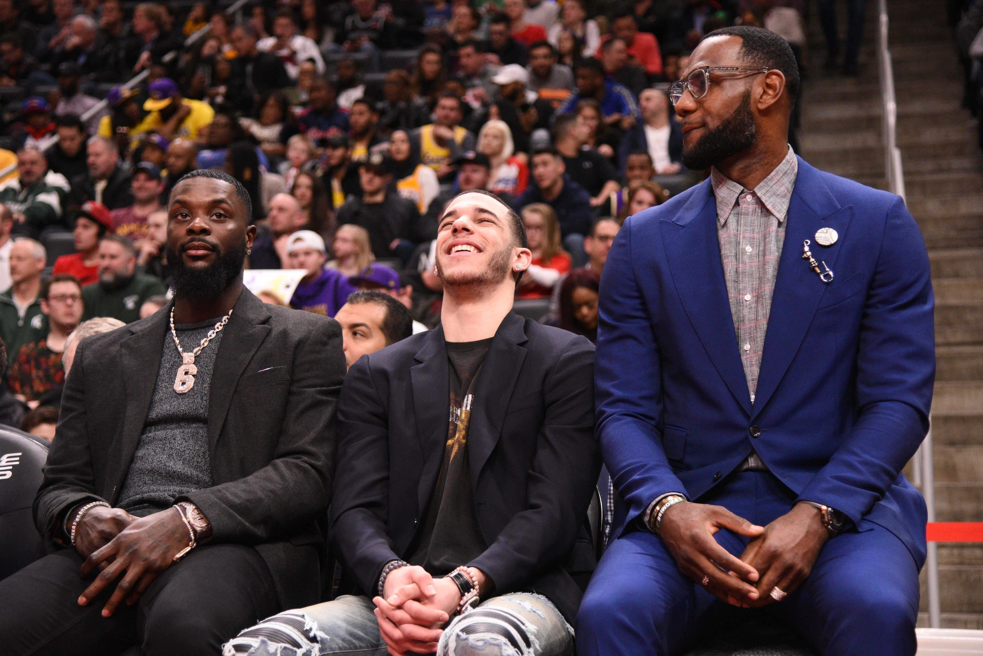 b88ae0bea0d Lakers News: Lonzo Ball 'Didn't Really Get Comfortable' With LeBron ...