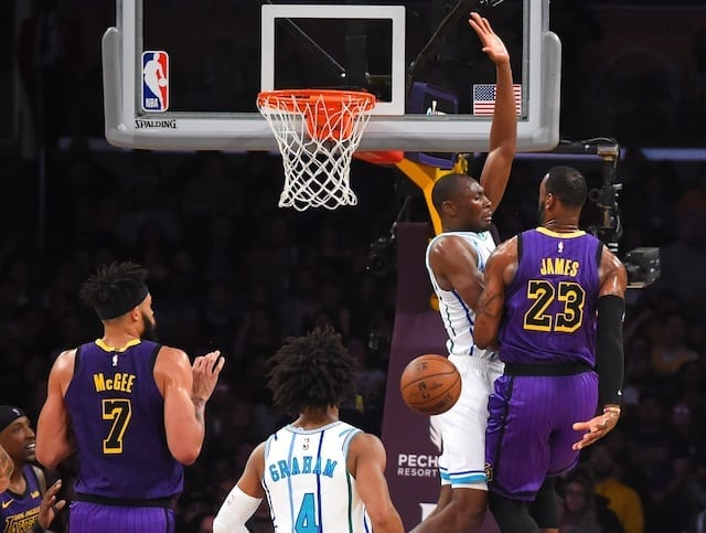 Lakers host the Hornets in cross-conference contest