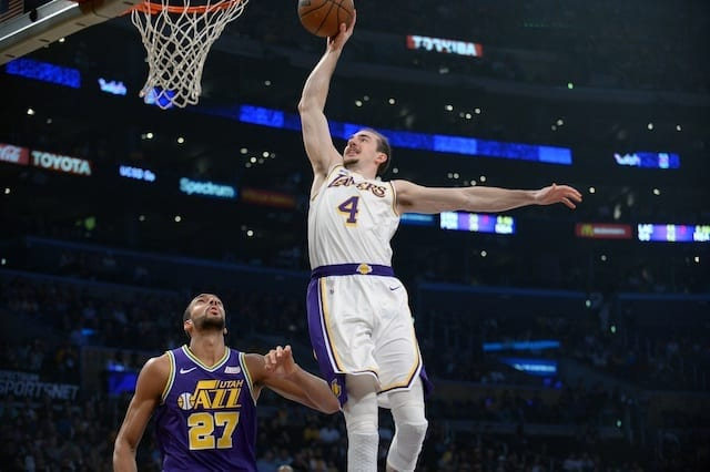Alex Caruso, Lakers