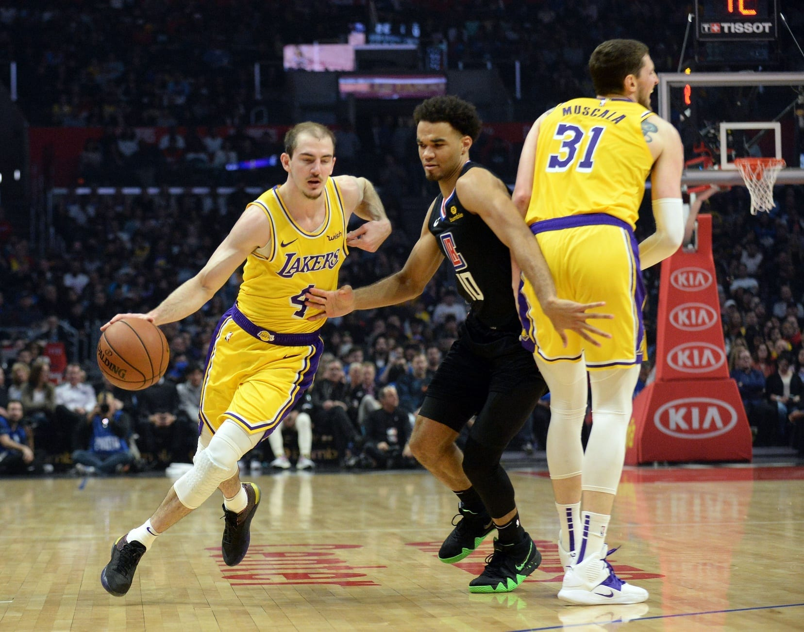 612457862780 Alex Caruso s Career-High Game Leads Lakers Past Clippers On Second Night  Of Back-To-Back. Gary A. Vasquez-USA TODAY Sports