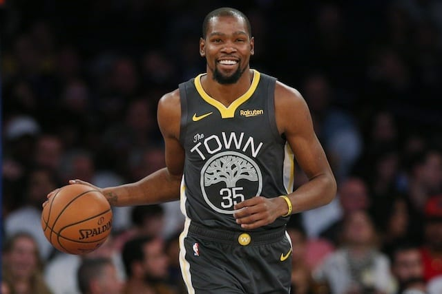 Durant scores 38 points in half, 1 shy of playoff record
