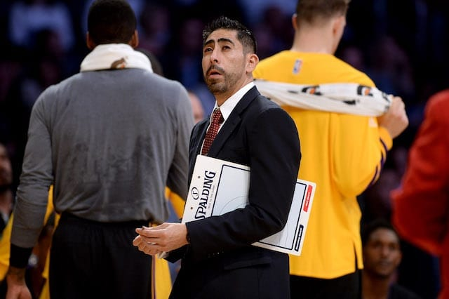 Lakers Rumors: Marco Nunez Fired After Players Missed 212