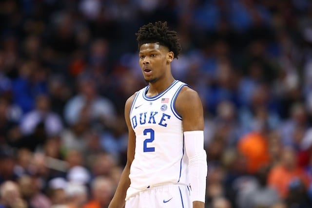 3a8e5a795d4 2019 NBA Draft News: Cam Reddish Met With Lakers, Expects To Be Taken In No.  3-10 Range