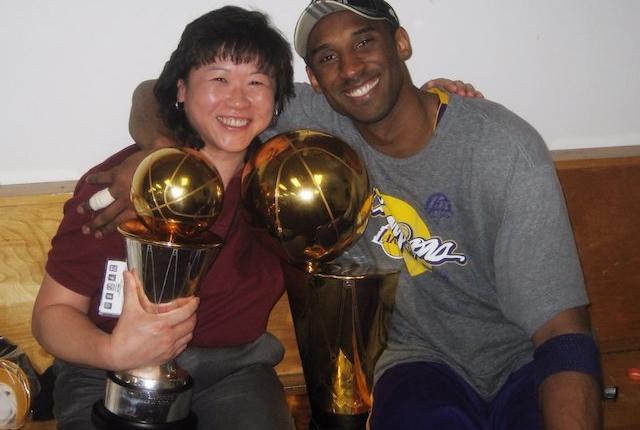 Judy Seto, Kobe Bryant, Lakers