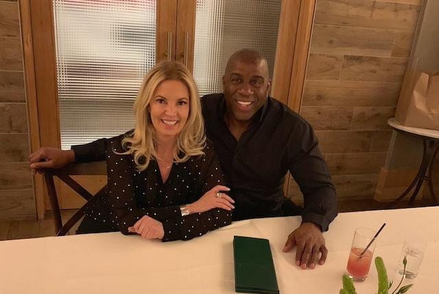 Jeanie Buss, Magic Johnson, Lakers