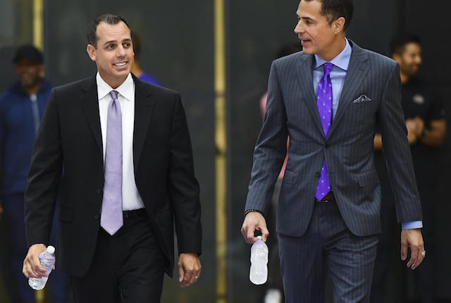 Rob Pelinka, Frank Vogel, Lakers