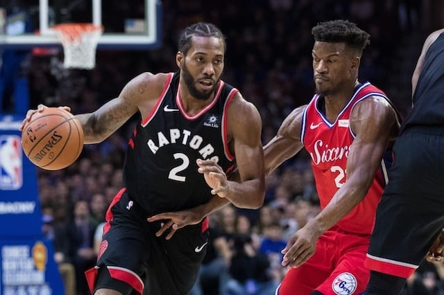 edc2167da NBA Free Agency Rumors  LeBron James Has  Already Begun  Recruiting Kawhi  Leonard