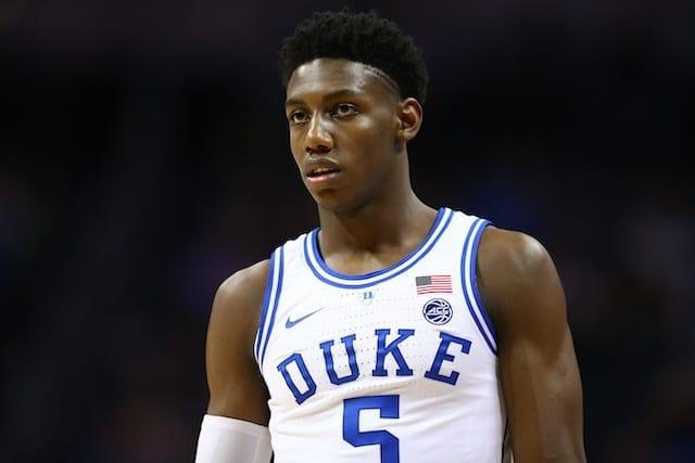 2019 Nba Draft Rumors: Knicks Could Consider Taking Jarrett Culver Over Rj Barrett With No. 3 Pick