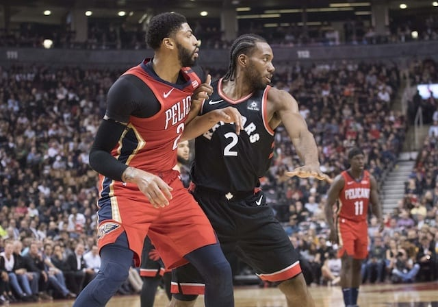 c9abb03ba90 NBA Free Agency Rumors: Lakers Will Pursue Kawhi Leonard After Anthony  Davis Trade