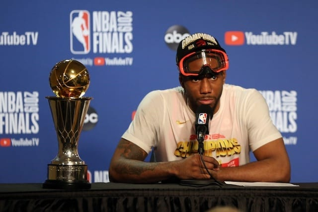Lakers reportedly intend to pursue Raptors star Leonard