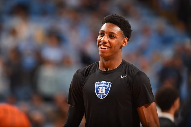 RJ Barrett, Duke, Knicks, Lakers, 2019 NBA Draft