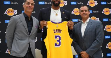 Anthony Davis Puts Lakers Against 'anybody' In Seven-game Playoff Series