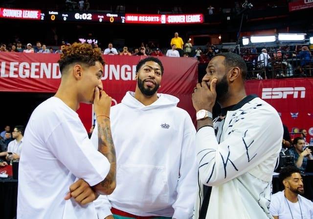 Lakers, Anthony Davis, LeBron James, Kyle Kuzma