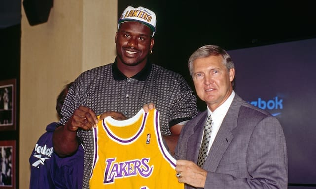 This Day In Lakers History: Shaquille O'neal Signs Seven-year, $121 Million Deal