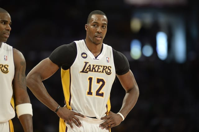 The Los Angeles Lakers to reportedly sign Dwight Howard