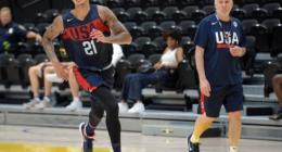 Kyle Kuzma, Lakers, Team USA