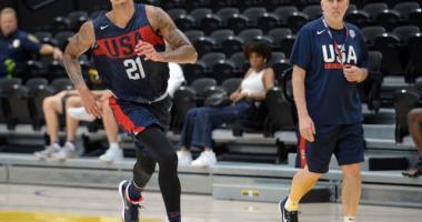 Kyle Kuzma, Lakers, Team USA
