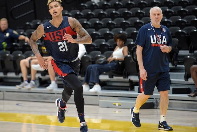 Kyle Kuzma, Lakers, Team USA, Gregg Popovich