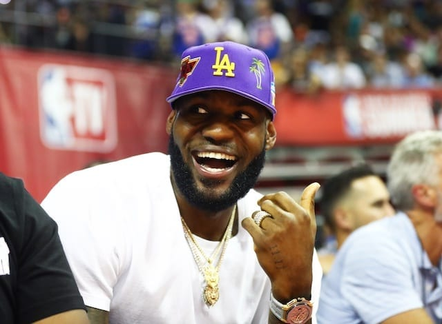 brand new 68a2c bbeda Lakers News: LeBron James Files To Trademark 'Taco Tuesday'