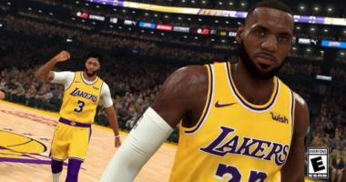 Nba 2k20 Gameplay Trailer Featuring Lebron James, Anthony Davis, And Lakers