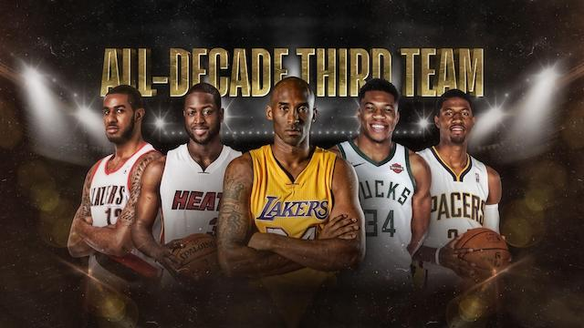 Lakers News: Lebron James, Anthony Davis, And Kobe Bryant Headline Nba.com's All-decade Teams
