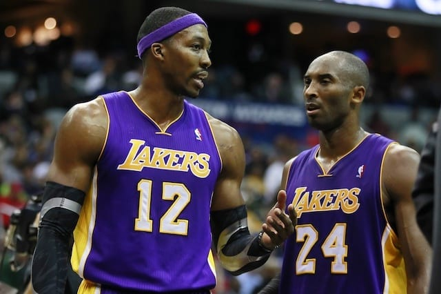 Kobe Bryant, Dwight Howard, Lakers