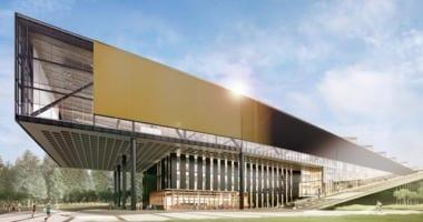 Lebron James Nike Building rendering