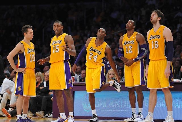Dwight Howard, Kobe Bryant, Pau Gasol, Lakers, Steve Nash