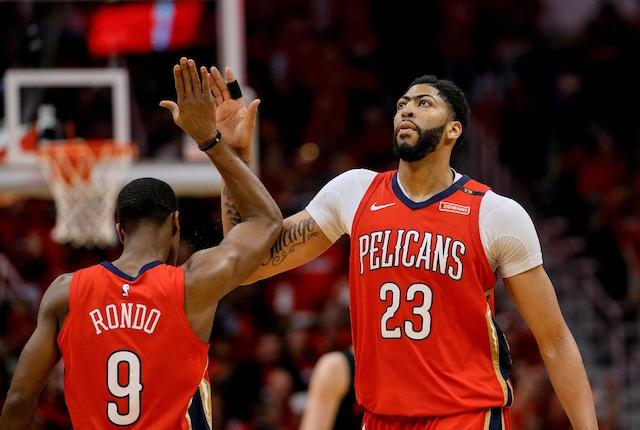 Anthony Davis On Rajon Rondo, Lakers Having To Be On The Same Page