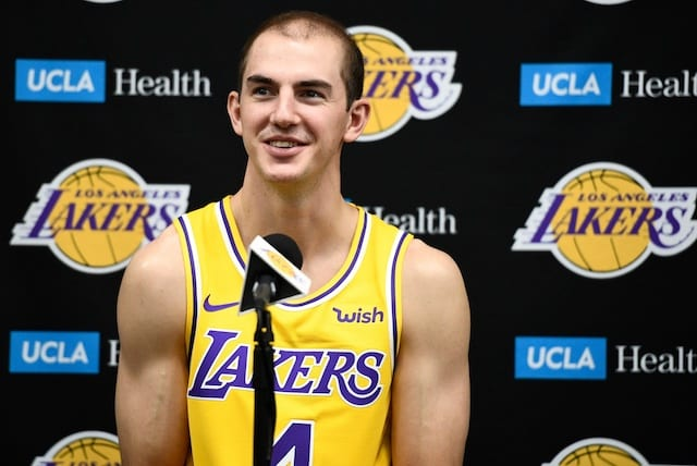 Lakers News: Alex Caruso Discusses What He Worked On In Offseason