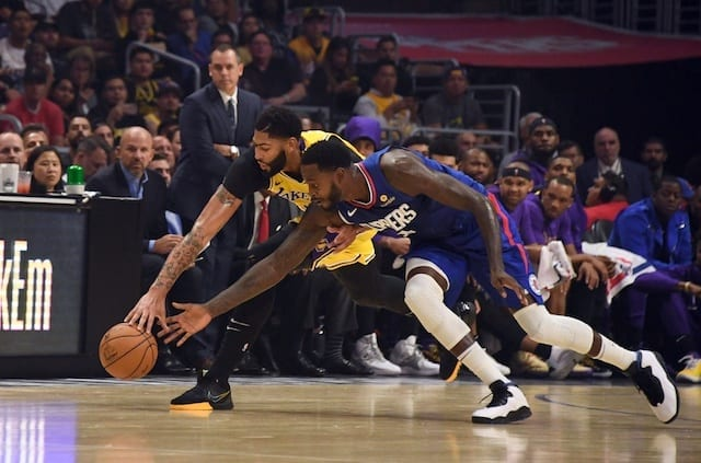 Lakers Highlights: Anthony Davis, Danny Green Shine In Debut In Loss To Clippers