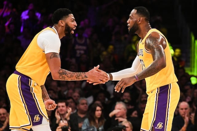 Lakers, Anthony Davis, LeBron James