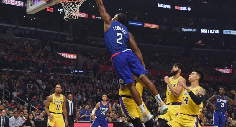Recap: Kawhi Leonard Leads Clippers Past Anthony Davis, Lebron James & Lakers