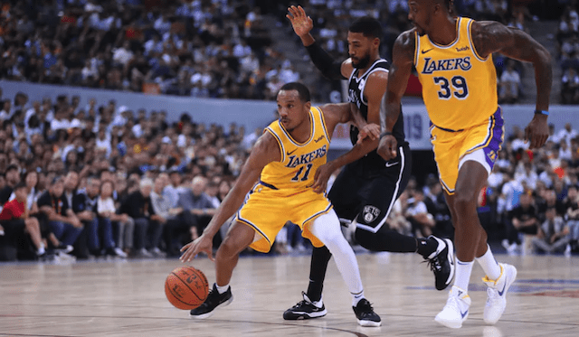 Avery Bradley, Lakers
