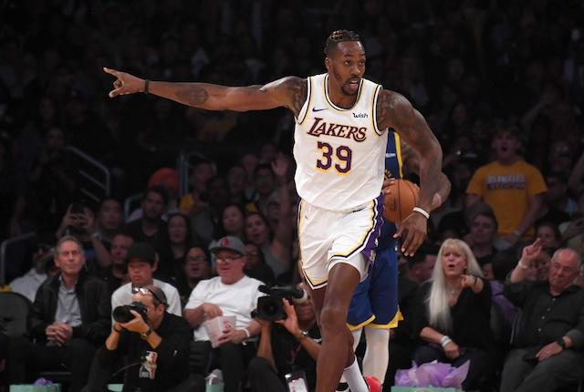 Lakers News: Dwight Howard Responds To Cheers From Staples Center Crowd In Win Over Hornets
