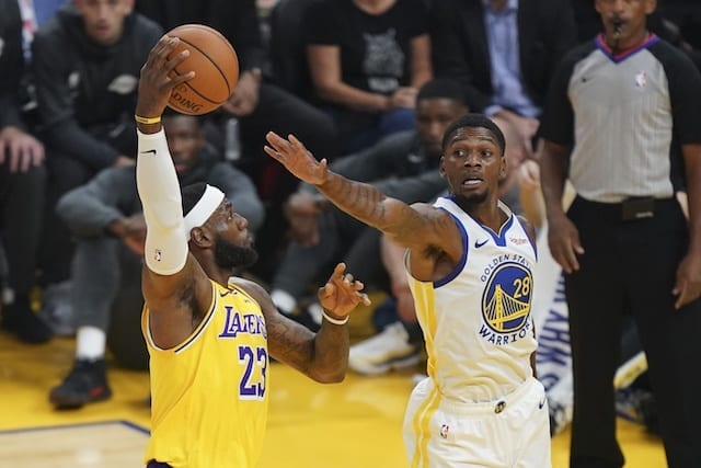 Lakers News: Lebron James Admits He 'had Some Butterflies' In 2019 Nba Preseason Opener Against Warriors