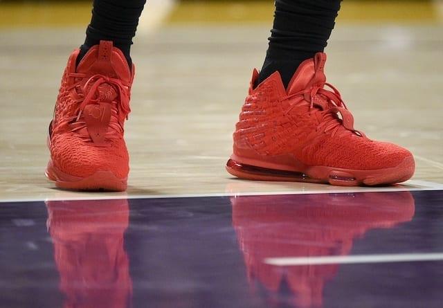 Nike LeBron 17 'Red Carpet' Release