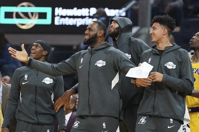 Lakers Podcast: Frank Vogel's Rotation, Kyle Kuzma's Return, Gm's Sleeping On L.a.