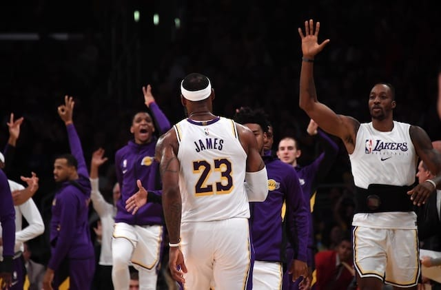 LeBron James explains how playing on Opening Night feels to him