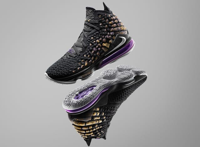 Nike LeBron 17 'Lakers' Colorway Release Date Details ...
