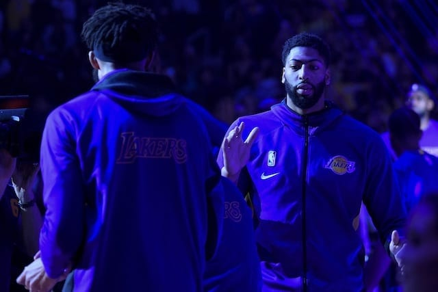 Lakers Video: Anthony Davis Booed By Pelicans Fans In First Return To Smoothie King Arena