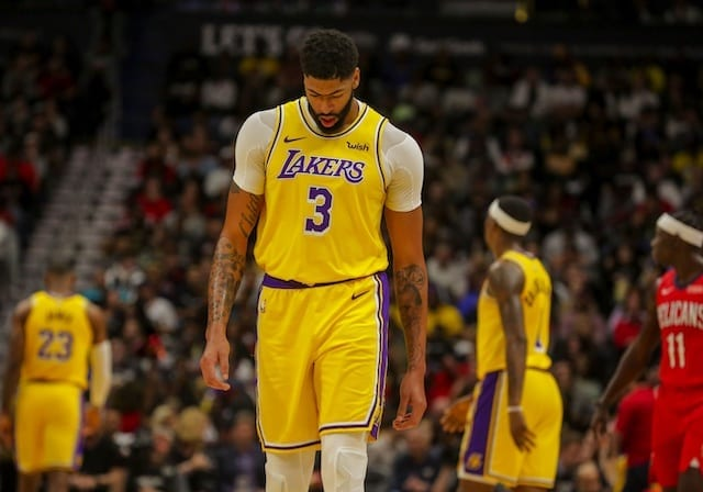 Lakers Rumors Anthony Davis Declines Four Year 146