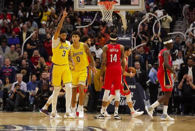 Lakers Highlights: Anthony Davis' Two-way Game Leads Los Angeles In First Return To New Orleans