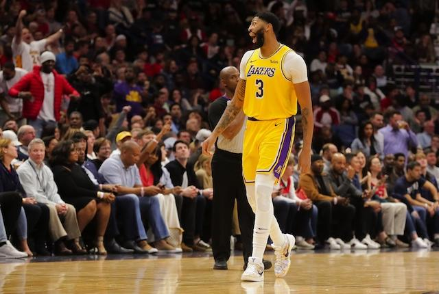 Anthony Davis Thankful For Lakers, Lebron James After First Game Against Pelicans In New Orleans