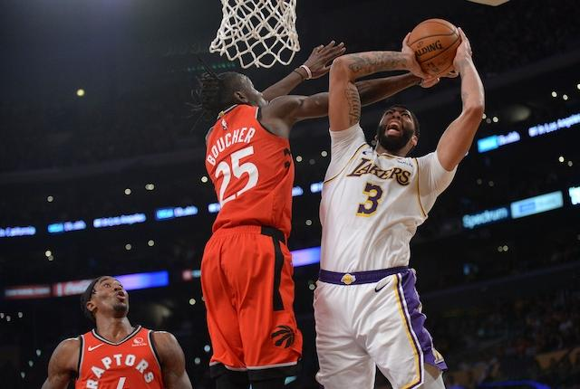 Lakers News: Anthony Davis Discusses Lack Of Offense In Loss To Raptors