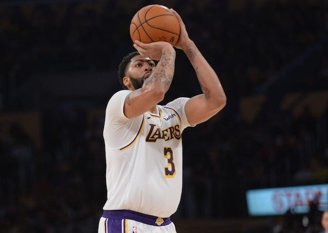 Lakers to rest Anthony Davis against Warriors