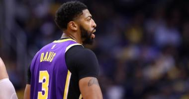 Lakers News: Anthony Davis' X-rays Negative, Will Be Re-evaluated Before Warriors Game