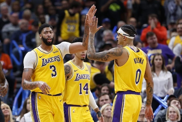 Lakers News: Anthony Davis Being Urged To Shoot More Threes And Not 'hesitating' To Shoot Them