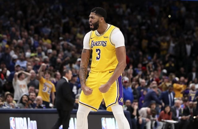 Anthony Davis Calls Lakers 'fighters' To Begin 2019-20 Nba Season