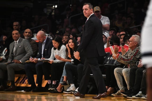 Lakers News: Frank Vogel Discusses Transition Defense After Loss To Raptors